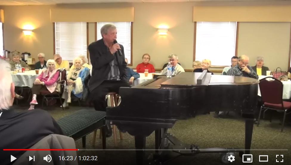 Hearth & History: Bob Milne, Ragtime Pianist Performance